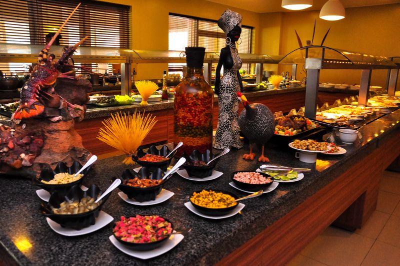 Pratos especiais postos no Sauípe Premium