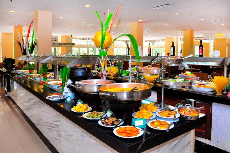 Alimentação do Sauípe Resorts traz uma variedade gastronomia com os buffets servidos todos os dias