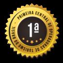 Selo Primeira Central Operadoras Turismo Brasil