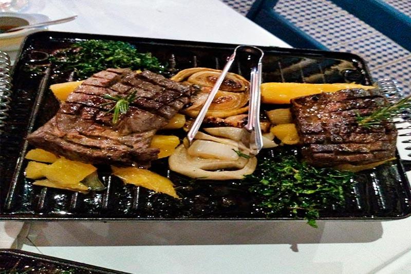 Gastronomia traz pratos com carnes oferecidos na chapa